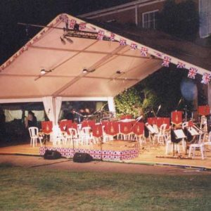 'CONCERTS IN THE PARK' AT WILLETT HOUSE, WEST SOMERSET