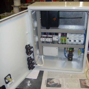 circuit board in cabinet